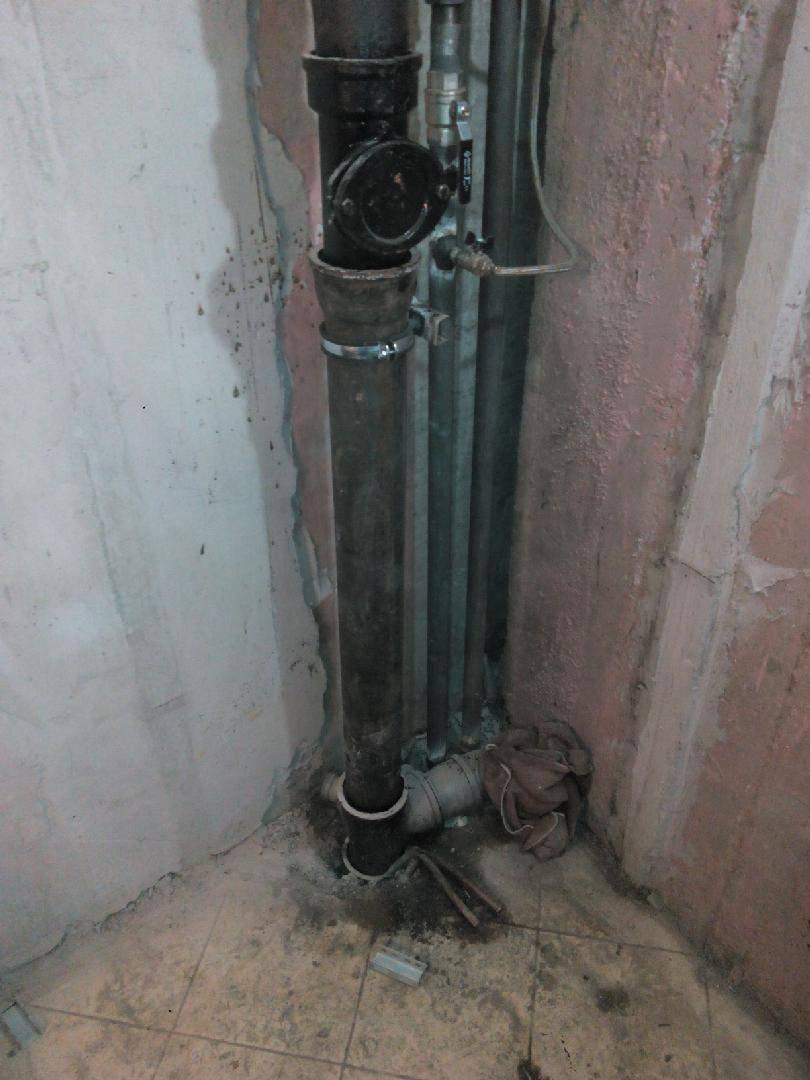Замена стояков канализации и водоснабжения в квартире многоквартирного дома: как правильно и по закону заменить стояки