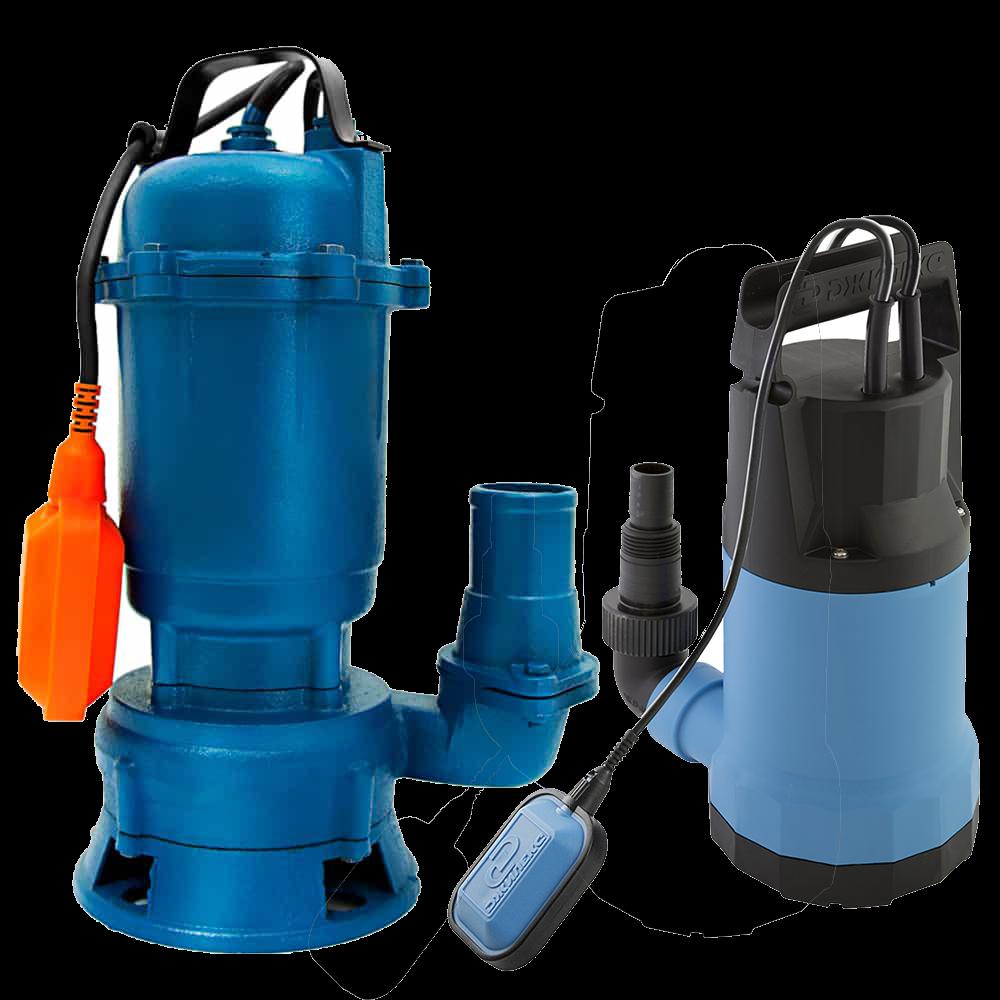 Погружной насос для грязной воды — как выбрать и установить, виды, модели, характеристики
