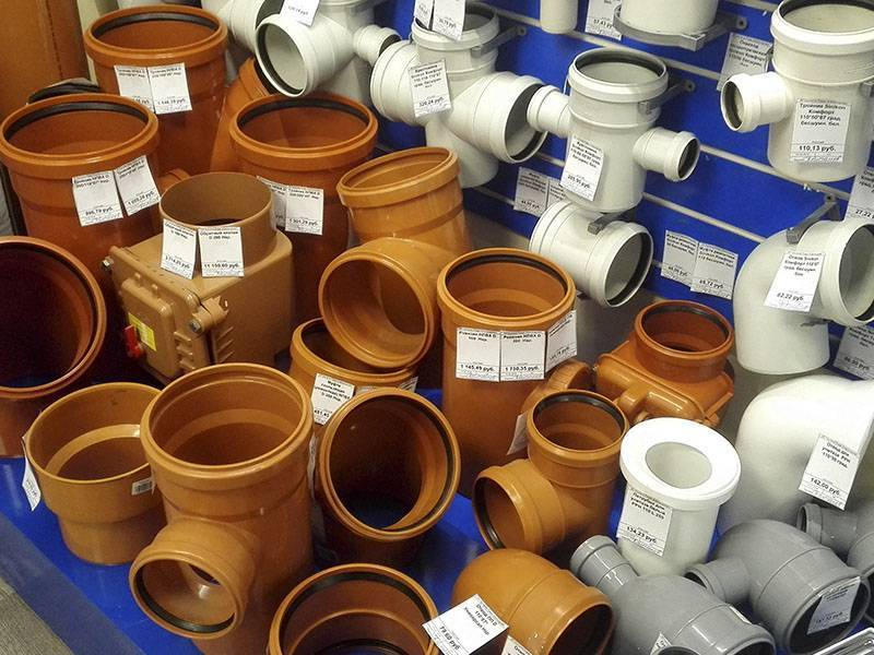 Виды и правила монтажа канализационных фитингов