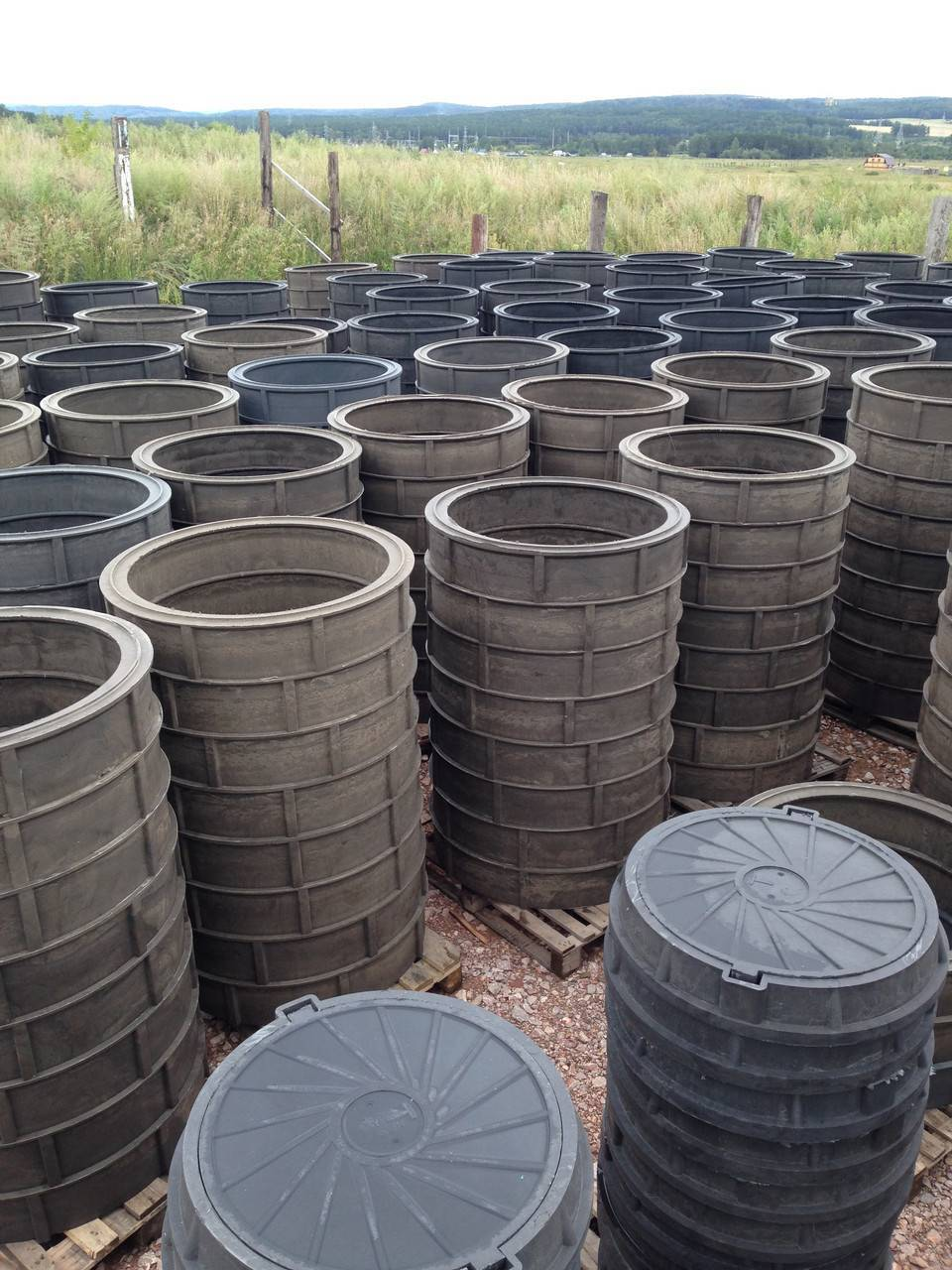 Секреты монтажа септика из бетонных колец без запаха