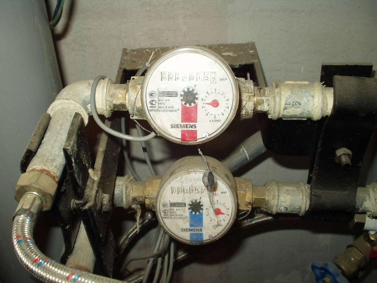 Проверка водяного счетчика в домашних условиях