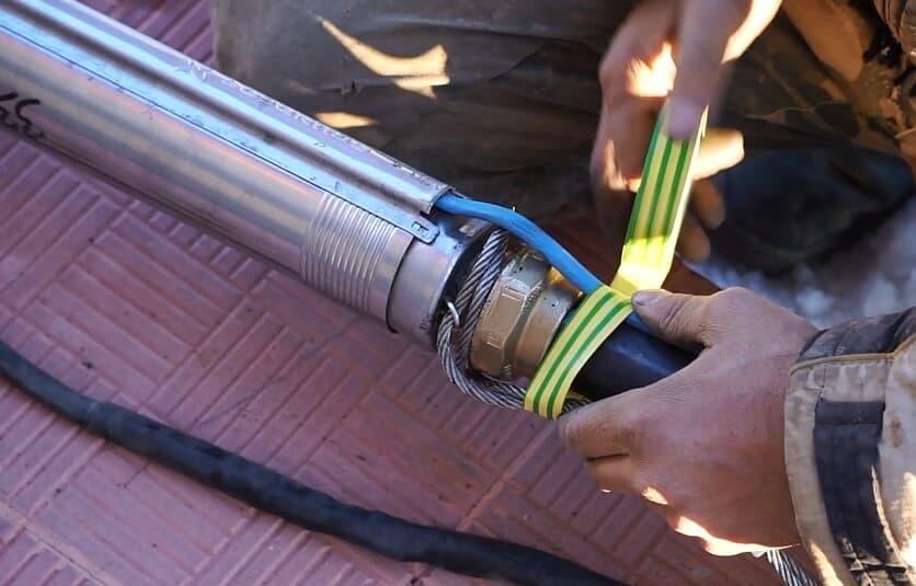 Как осуществить монтаж глубинного насоса в скважину - жми!