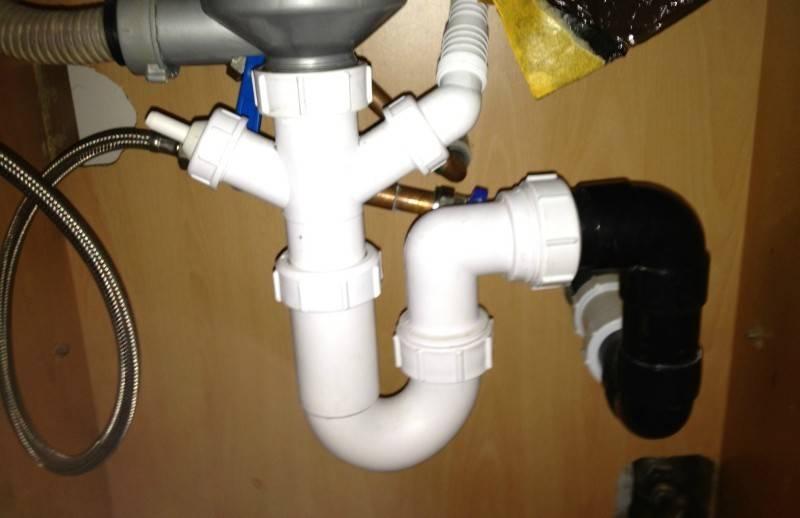 Подключение посудомоечной машины к водопроводу и канализации – как правильно подсоединить