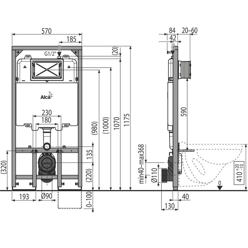 Установка инсталляции унитаза: правила монтажа установка инсталляции унитаза: правила монтажа