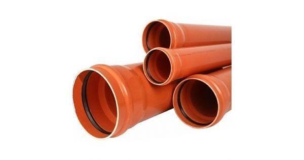 Зачем нужны рыжие канализационные трубы: все виды и отличия в цвете, стандартные диаметры + нюансы выбора