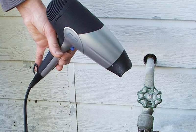 Экстренная разморозка пластиковой трубы: советы профессионалов