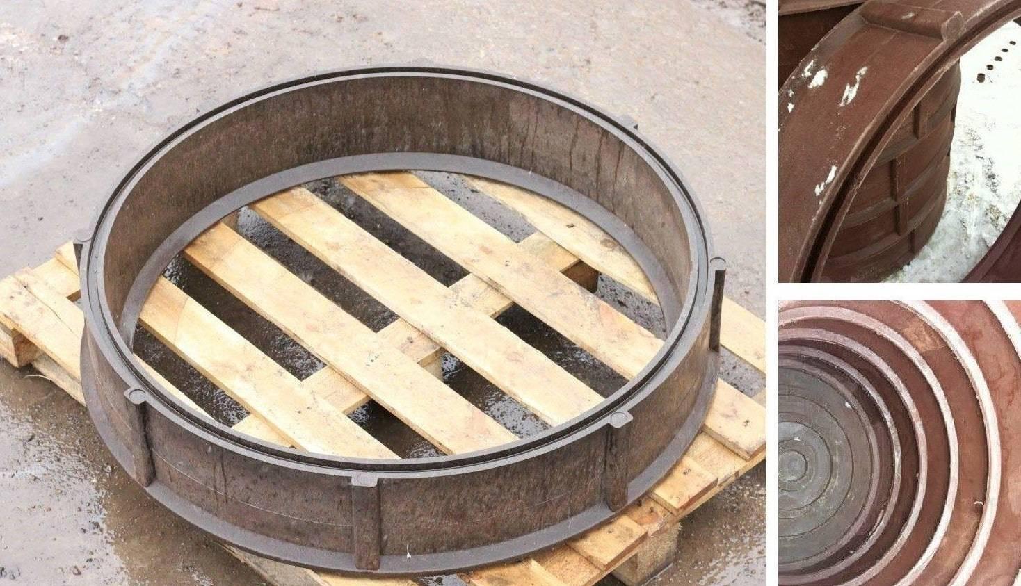 Полимерпесчаные кольца для колодца: видео-инструкция по монтажу своими руками, фото