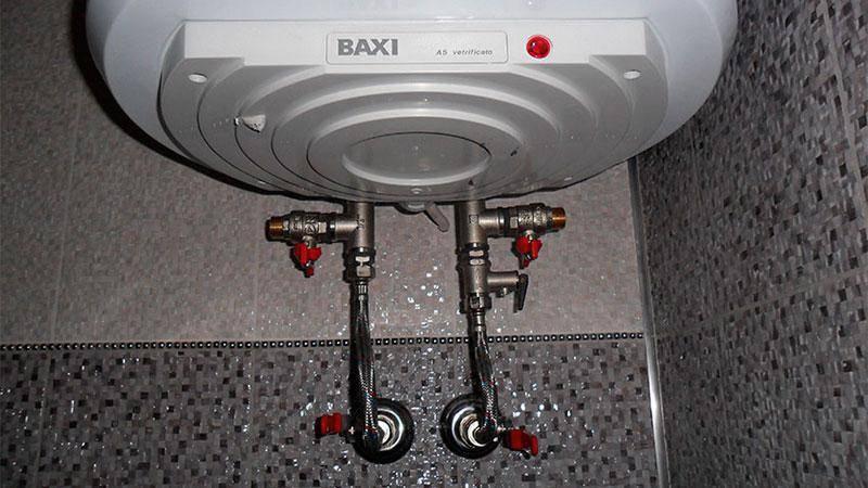 Как правильно отключить бойлер, если дали горячую воду или на зиму на даче