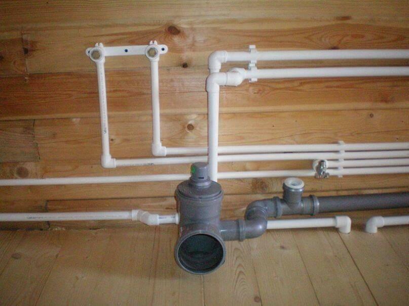 Разводка полипропиленовых труб: схемы, монтаж