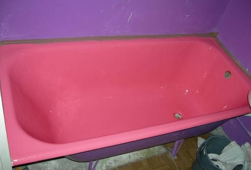 Чем покрасить ванну внутри и как это сделать качественно?