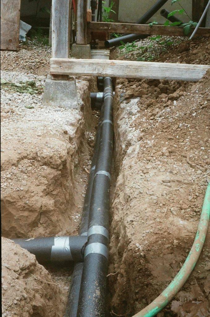 Какую трубу лучше использовать для водопровода под землей - vodatyt.ru