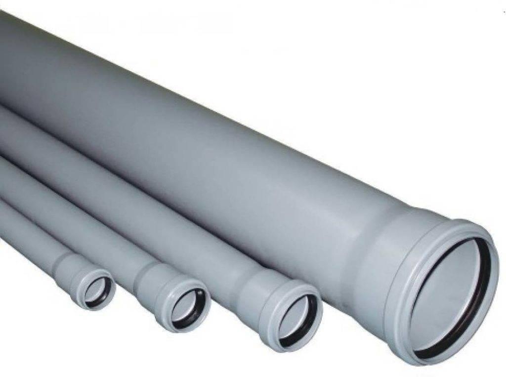 Пластиковые канализационные трубы: виды материалов, размеры, особенности и стандарты