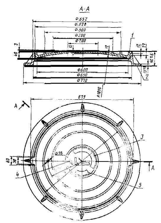 Гост 8591-76 люки для кабельных колодцев телефонной канализации. технические условия (с изменениями n 1, 2), гост от 13 апреля 1976 года №8591-76