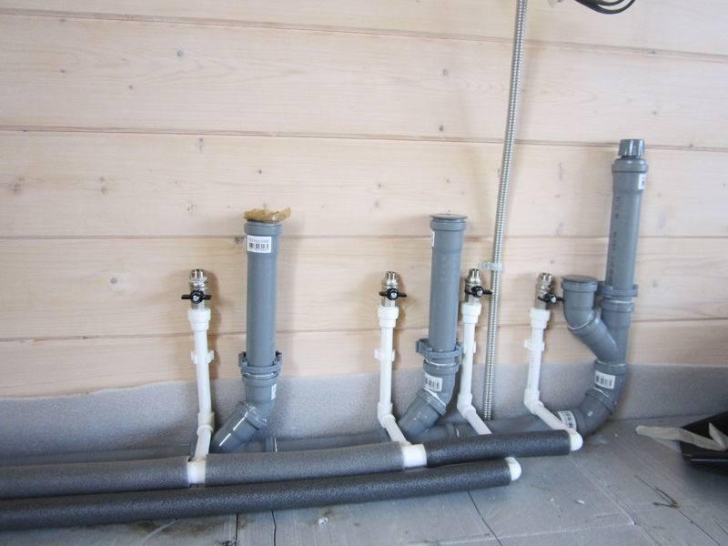 Трубы нпвх для наружной канализации: характеристики и как выбрать