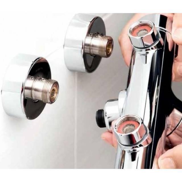 Ремонт смесителя для ванной с душем своими руками – устройство и ремонт переключателя (инструкция)