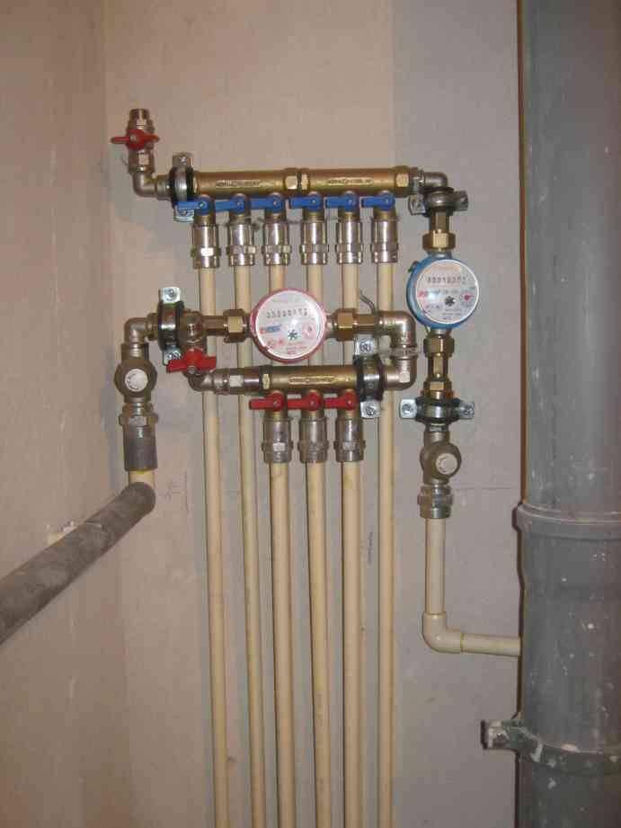 Разводка водопровода в квартире: необходимые материалы и различные способы монтажа своими руками
