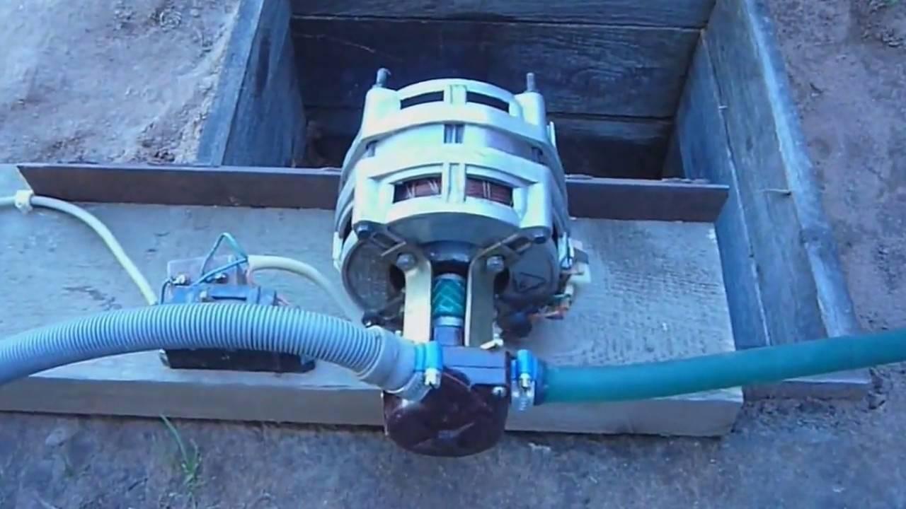 Погружной насос для грязной воды - виды, лучшие модели, сборка!