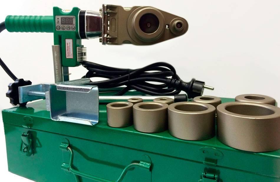 Сварочный аппарат для полипропиленовых труб — какой лучше выбрать?