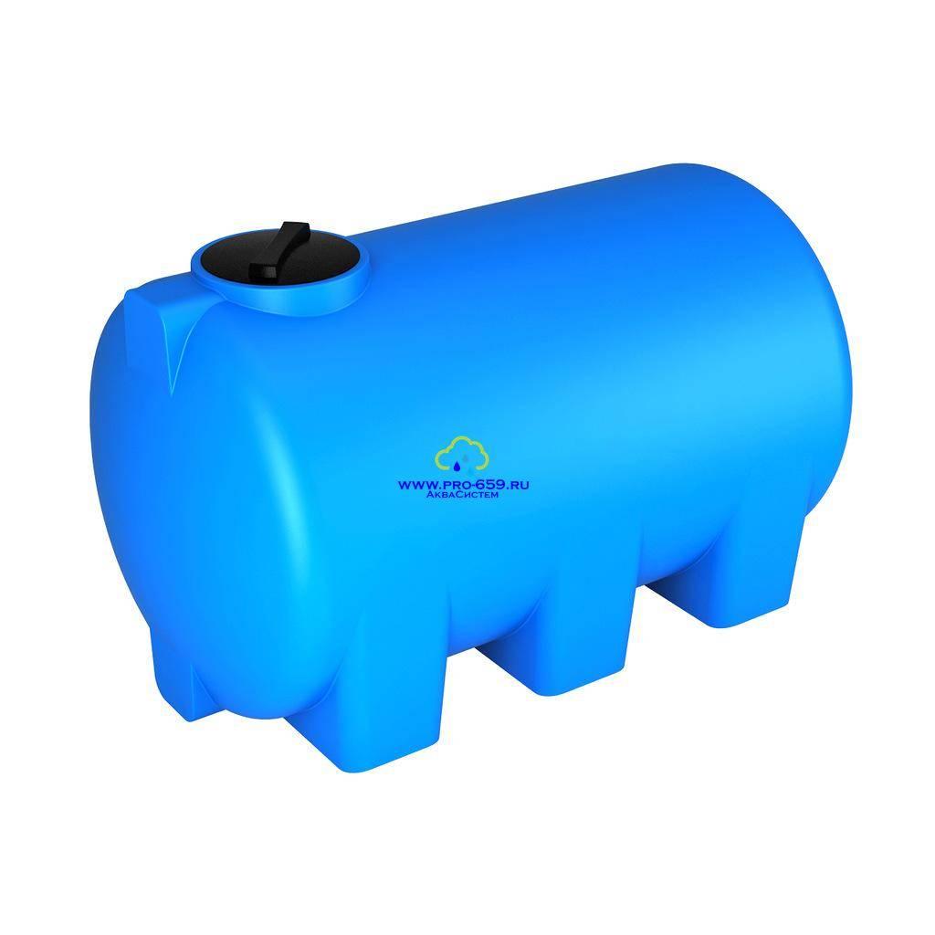 Резервуары для воды: пластиковые, большого объема- резервуары для воды, пластиковые: прямоугольные, цилиндрические. горизонтальный, вертикальный вид