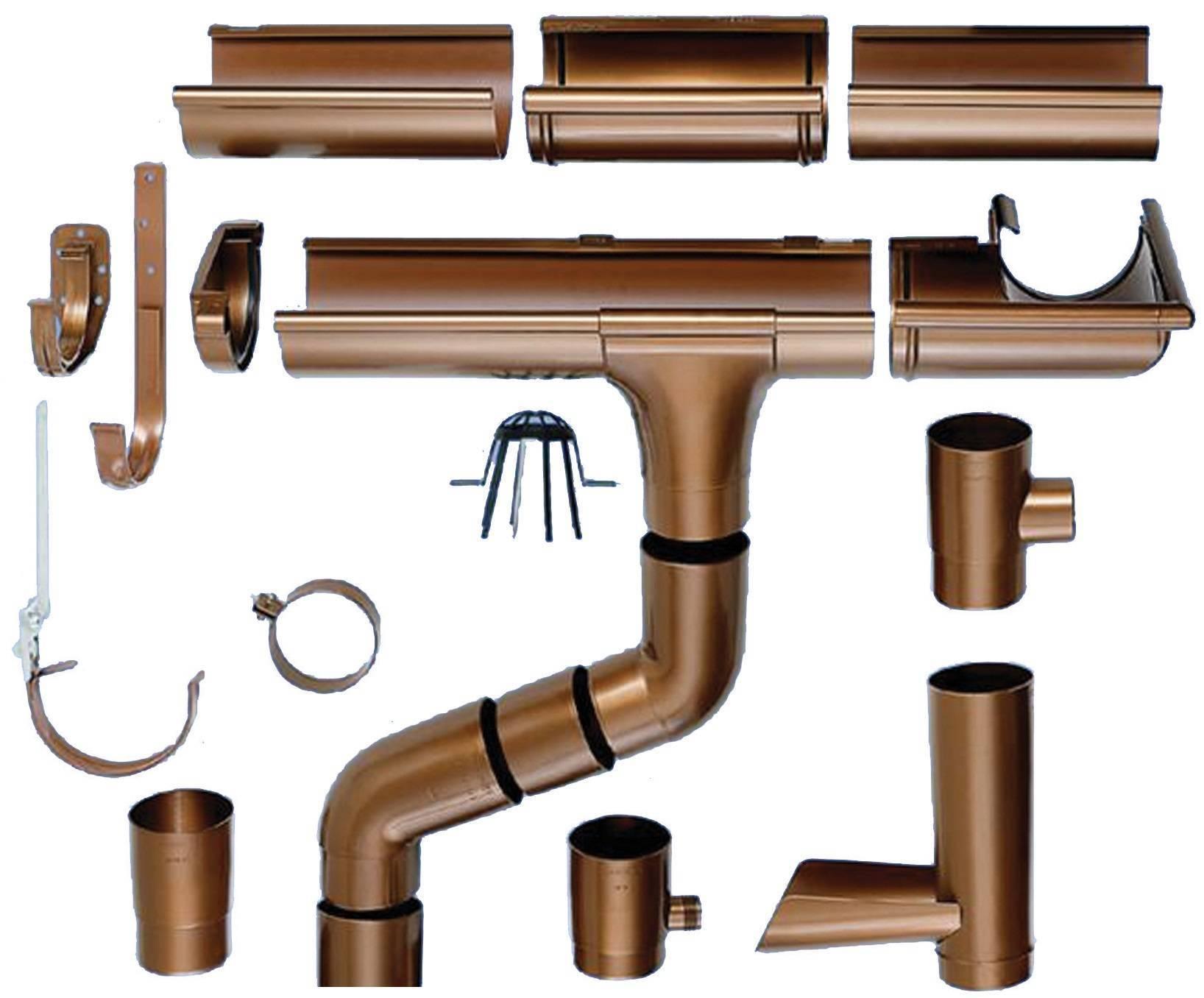 Какой водосток лучше пластиковый или металлический: сравнительный обзор характеристик