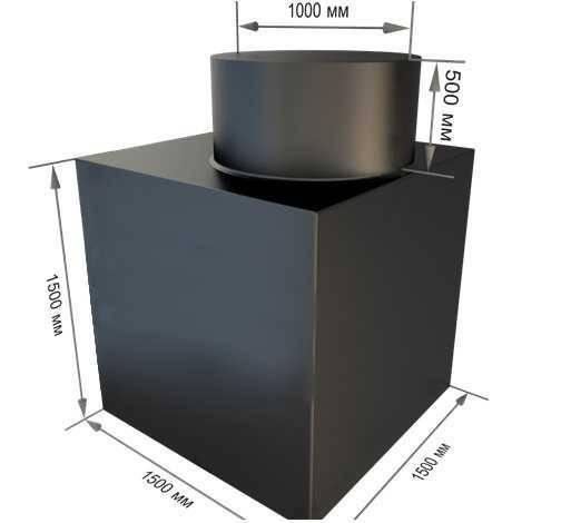 Металлический кессон для погреба (овощной ямы) своими руками