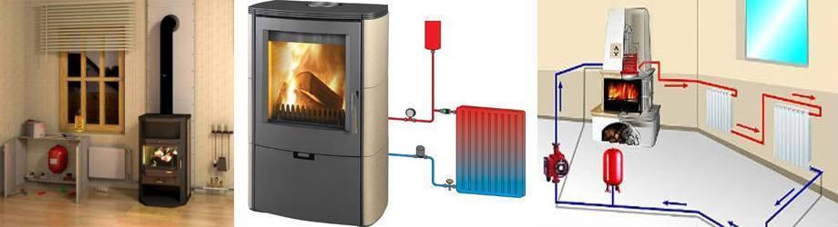 Печь с водяным отоплением