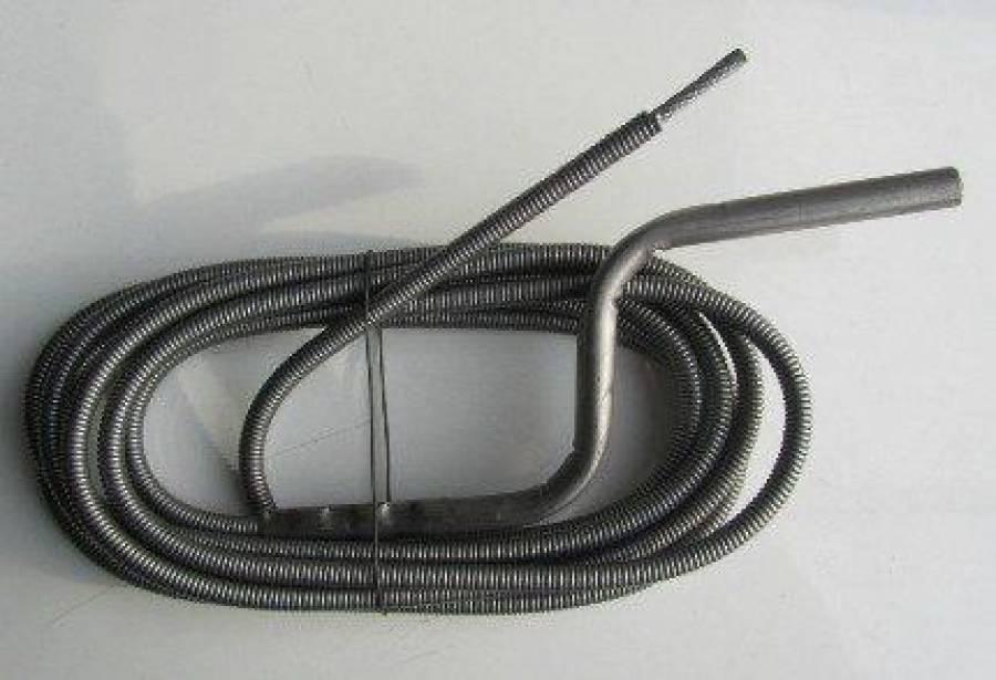 Изготовление и применение троса для чистки канализации