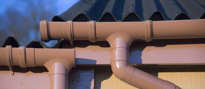Водосток из пвх труб: уклон, ошибки водосточной системы