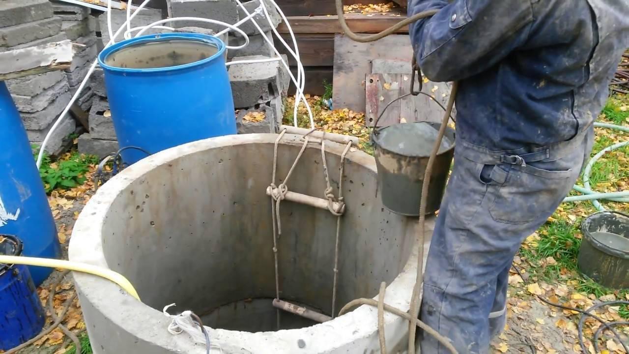 Как очистить колодец и воду