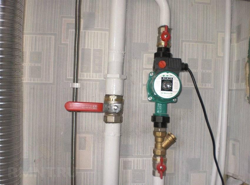 Как установить циркуляционный насос на отопление?