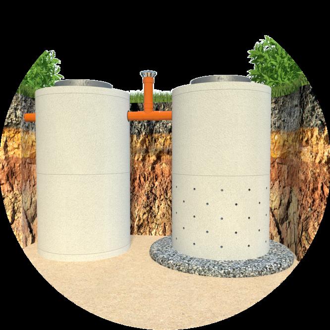 Как правильно сделать септик из бетонных колец?