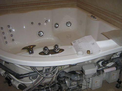 Установка джакузи (гидромассажной ванны) своими руками