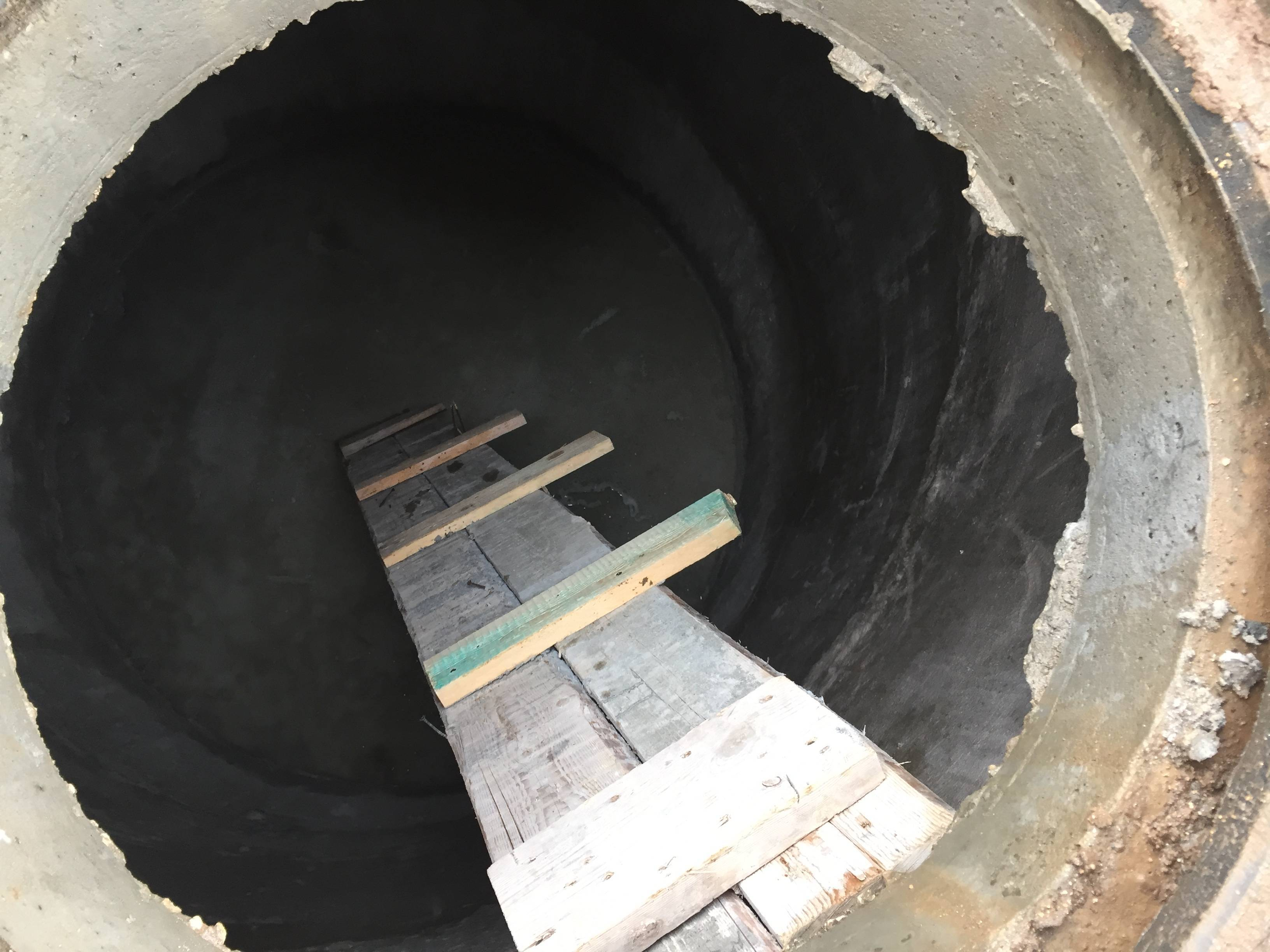 Наружная и внутренняя гидроизоляция колодца