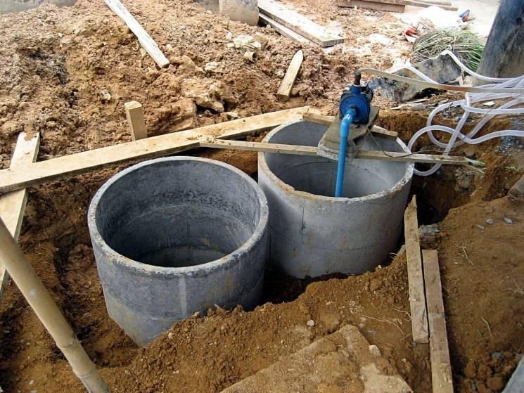 Как сделать на даче канализацию: схема для дома и на участке, как провести