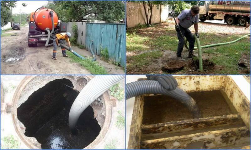Как очистить выгребную яму: очистка выгребных ям и туалетов в частном доме своими руками, очищение на примерах