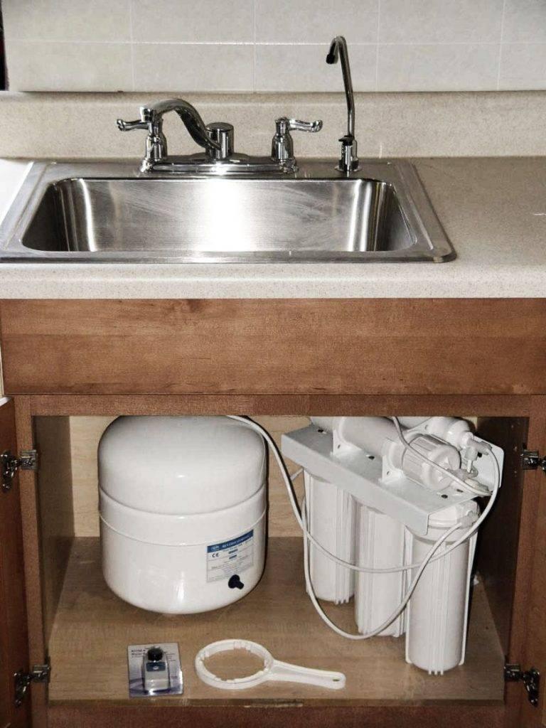 Фильтр для воды под мойку - как выбрать и установить правильно