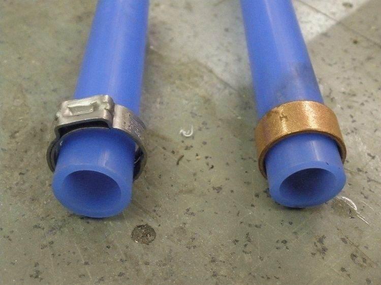 Что нужно учитывать при монтаже труб из сшитого полиэтилена