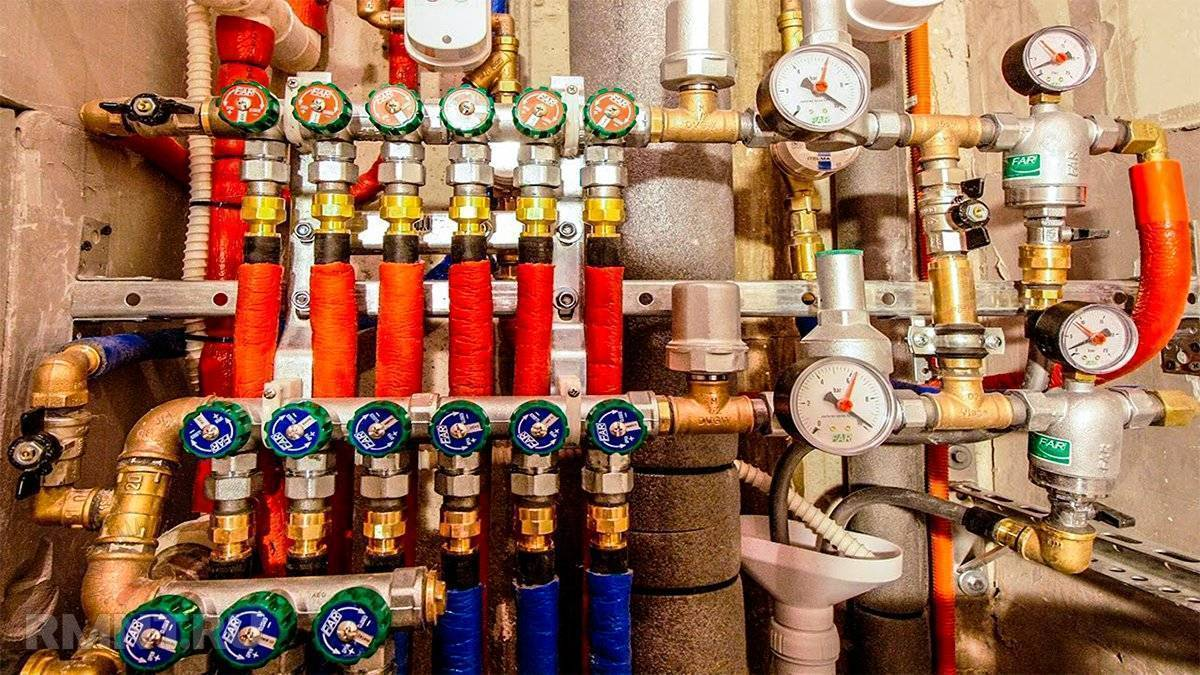 Установка фильтров для очистки воды в квартире в москве и московской области