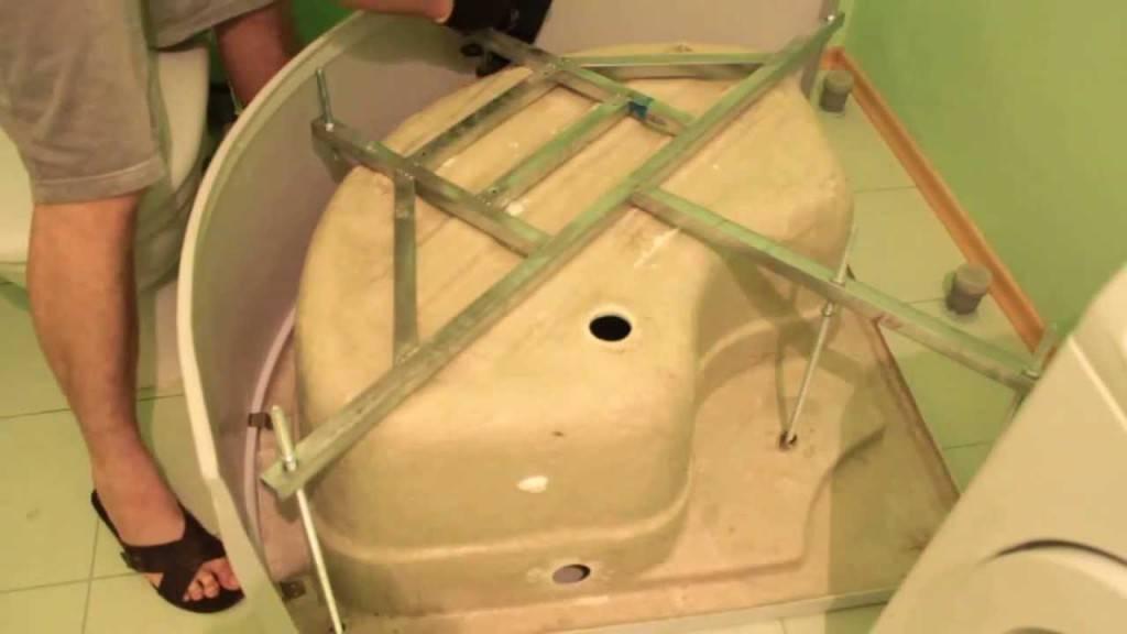 Установка душевой кабины своими руками: подробная инструкция в 6 шагов