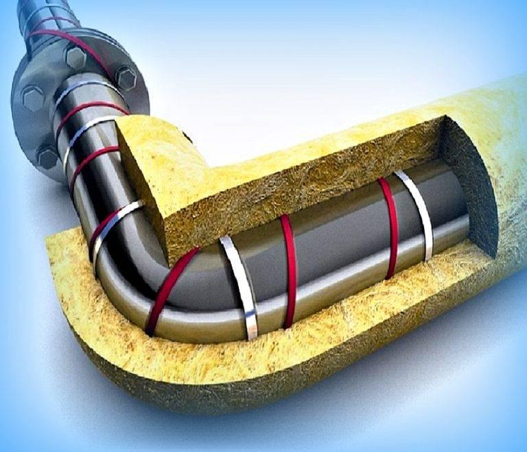 Как утеплить водопроводную трубу – несколько полезных советов