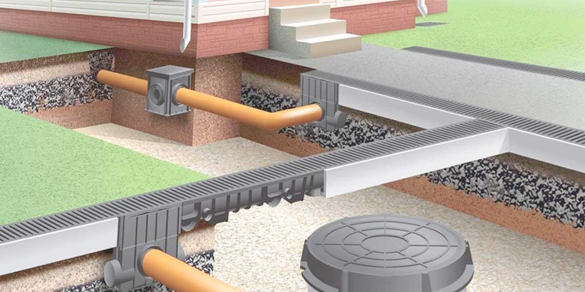Ливневая канализация на дорогах: проектирование, схемы, снип