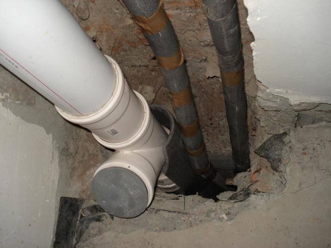 Замена канализационного стояка в квартире: фото, видео инструкция замена канализационного стояка в квартире: фото, видео инструкция