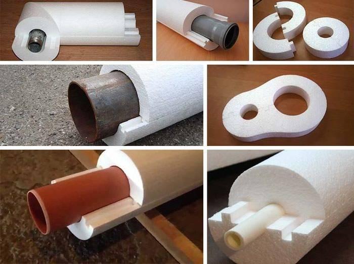 Утеплитель для канализационных труб: теплоизоляция наружной канализации 110мм