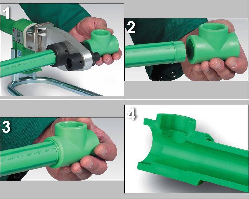 Пайка полипропиленовых труб: инструкция, оборудование, видео