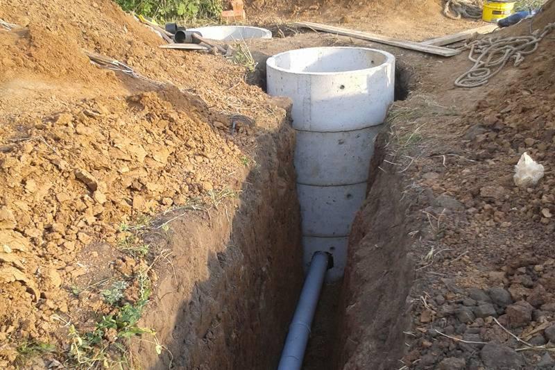 Как уложить трубы канализации: прокладка в земле