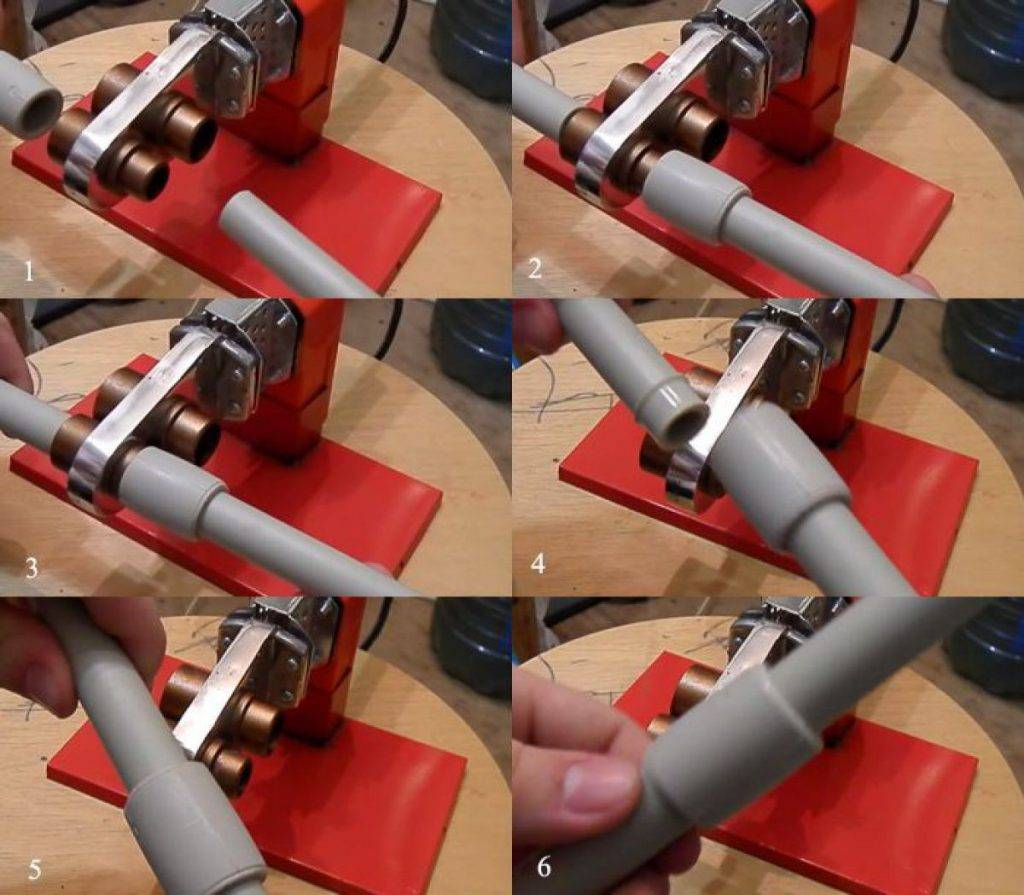 Как спаять полипропиленовые трубы без паяльника: методы пайки