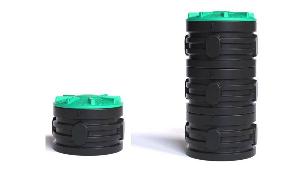 Пластиковые кольца для колодца: виды, материалы, размеры и плюсы и минусы+Фото