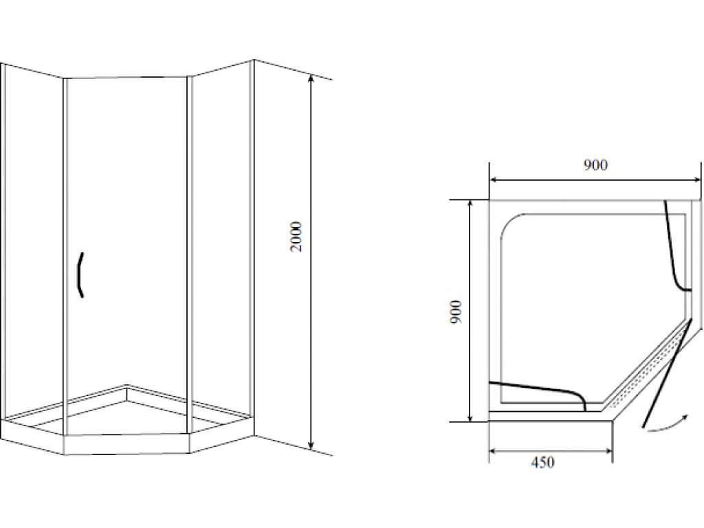 Размеры душевых кабин (81 фото): маленькие и стандартные варианты, кабины размером 90х90 и 80х80, 120х80 и 100х100, 120х90 и 70х70