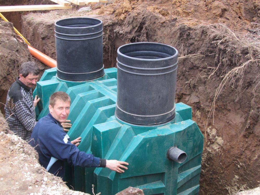 Септик биотанк: очистное сооружение для канализации
