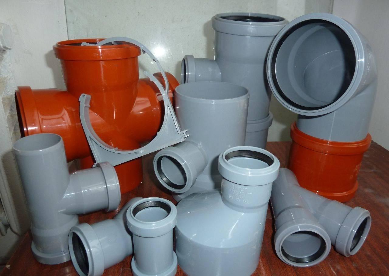 Фасонные части канализационных труб: виды, типы, преимущества